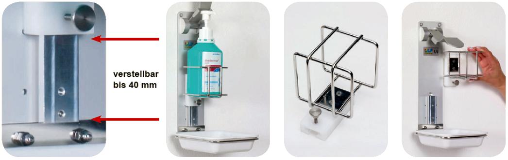 Desinfektionsmittelspender | Ulf Systems